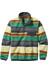 Patagonia LW Synch Snap-T Pullover Painted Fitz Stripe/Forge Grey